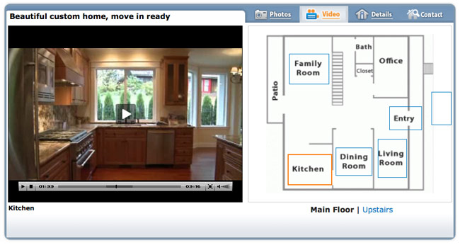 Real Estate Video Tours With Interactive Floor Plans The Ultimate Virtual Tour